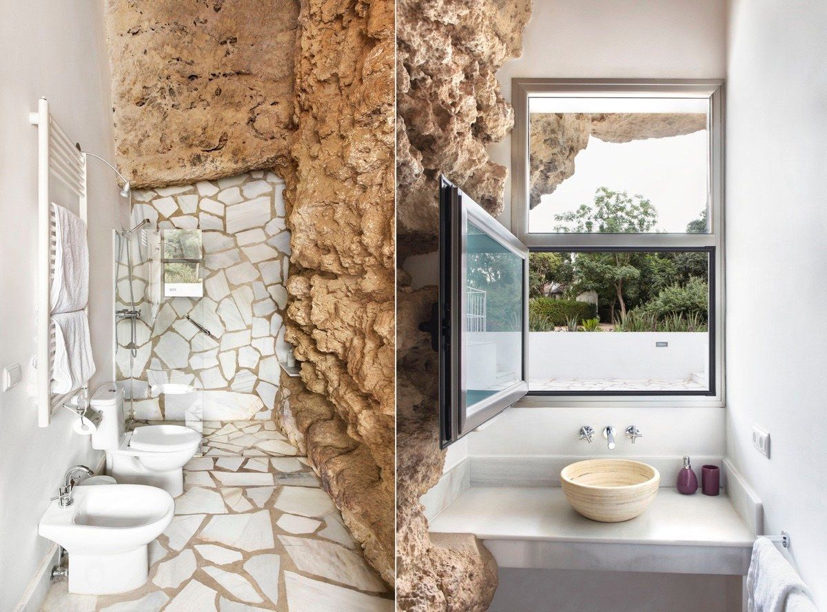 Marvelous A Stunning Cave House In Spain