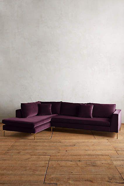 Astounding Velvet Edlyn Left Sectional Furniture Corner Sofa Download Free Architecture Designs Intelgarnamadebymaigaardcom
