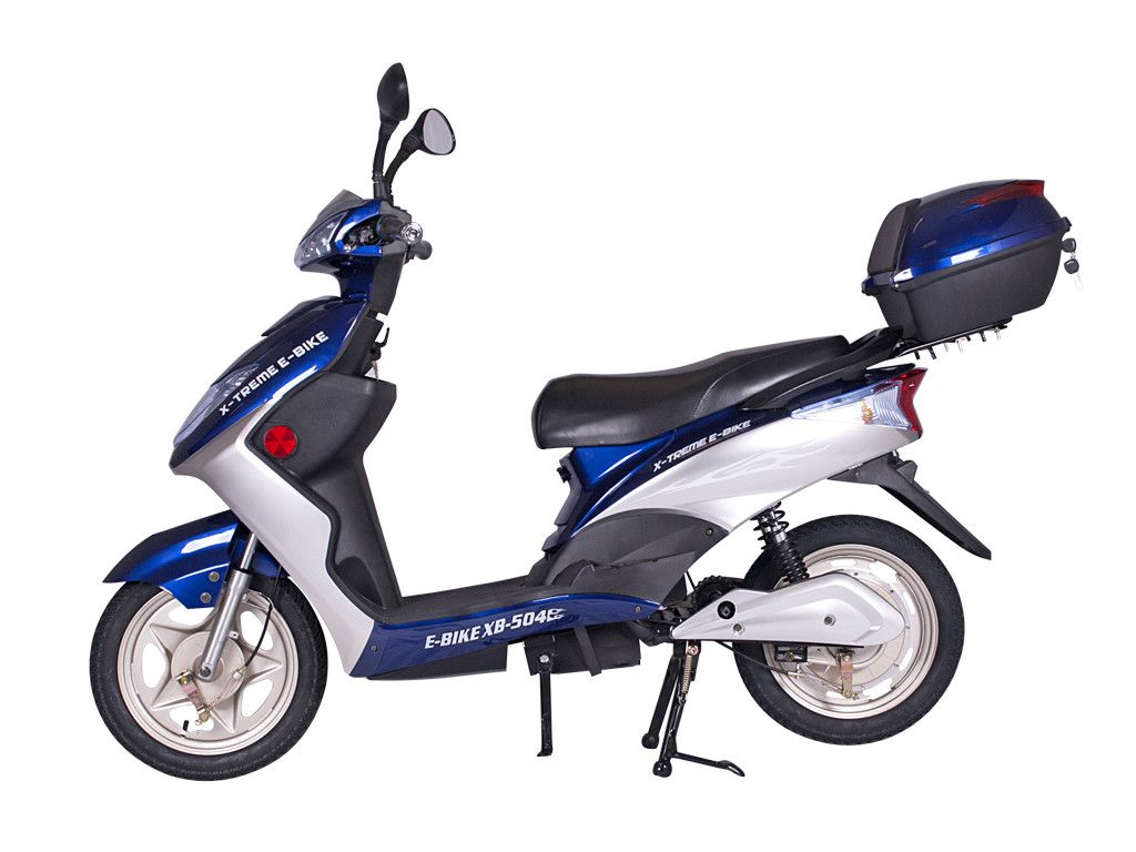 xb 504 electric bicycle scooter moped 12 amp battery. Black Bedroom Furniture Sets. Home Design Ideas
