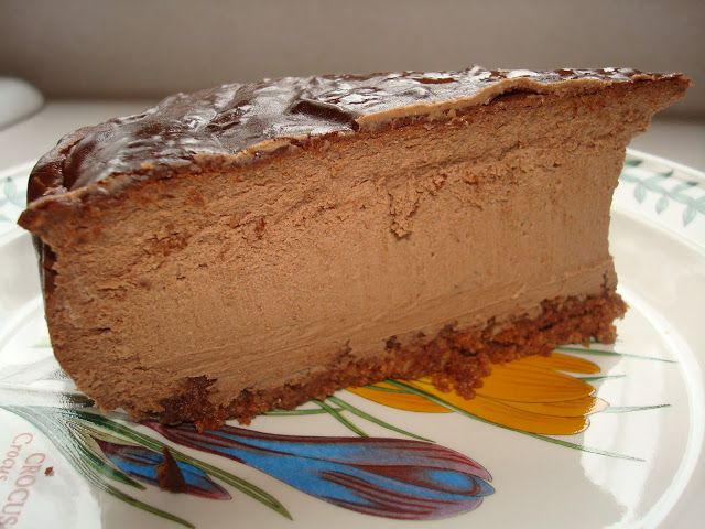 Primal Chocolate Cheesecake - have to substitute something for the honey
