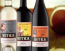 Ditka. Ditka. Sausage. Ditka... Wine?