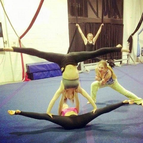 pinkevin cannon on acrodance  acro dance gymnastics