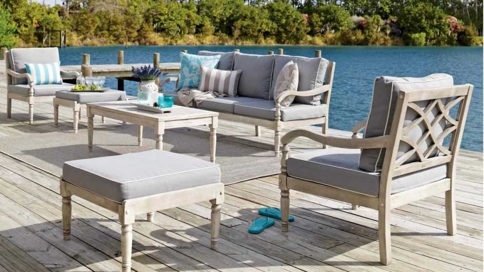 Marie 6 Piece Outdoor Lounge Suite Outdoor Lounges