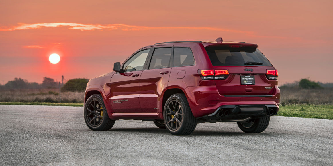 Hennessey S 1000 Hp Hellcat Jeep Trackhawk Does 0 60 In 2 7