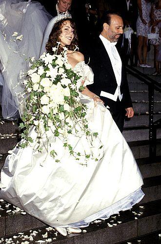 Celebrity Wedding Dresses 1990s : Wang wedding gowns celebrity weddings designer dresses