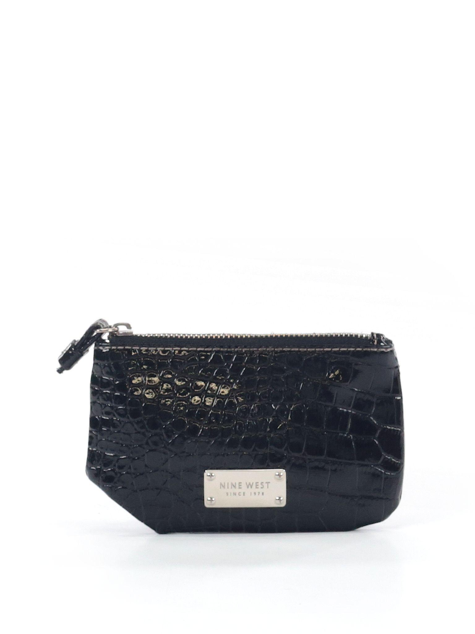 Nine West Clutch Size Na Black Womens Bags  $2499