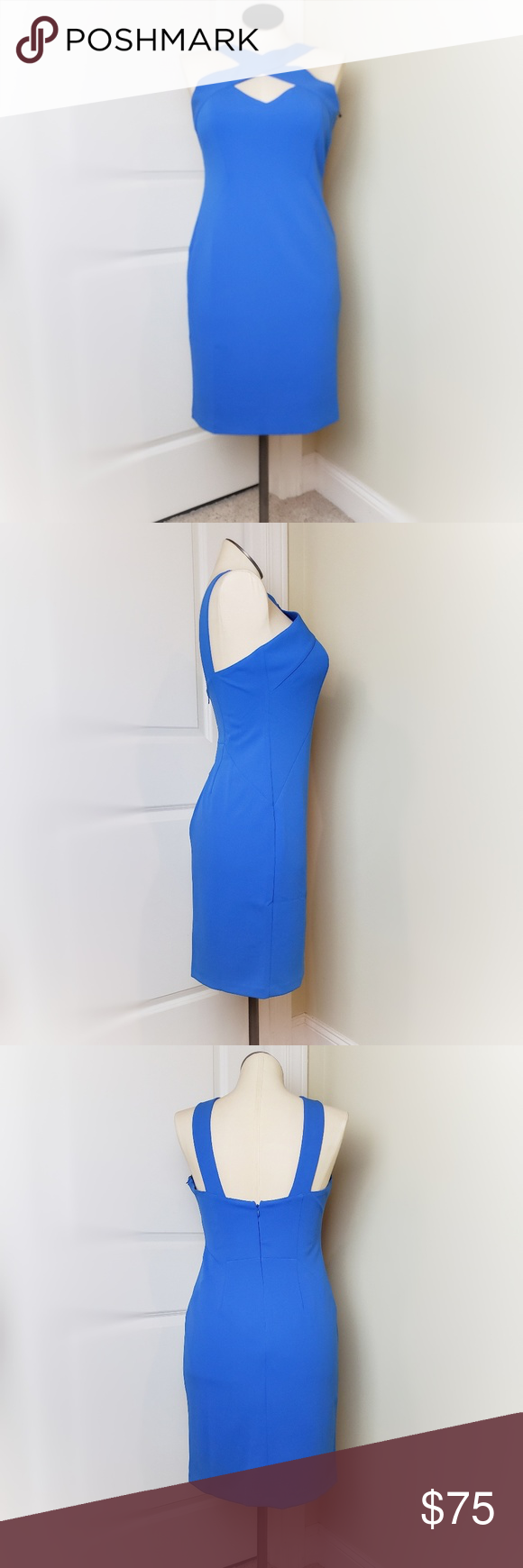 Nwt Vince Camuto Blue Dress 10 Blue Fitted Dress By Vince Camuto Filly Lined Zipper And Hook Eye Closure Blue Dresses Flare Mini Dress Velvet Cocktail Dress [ 1740 x 580 Pixel ]