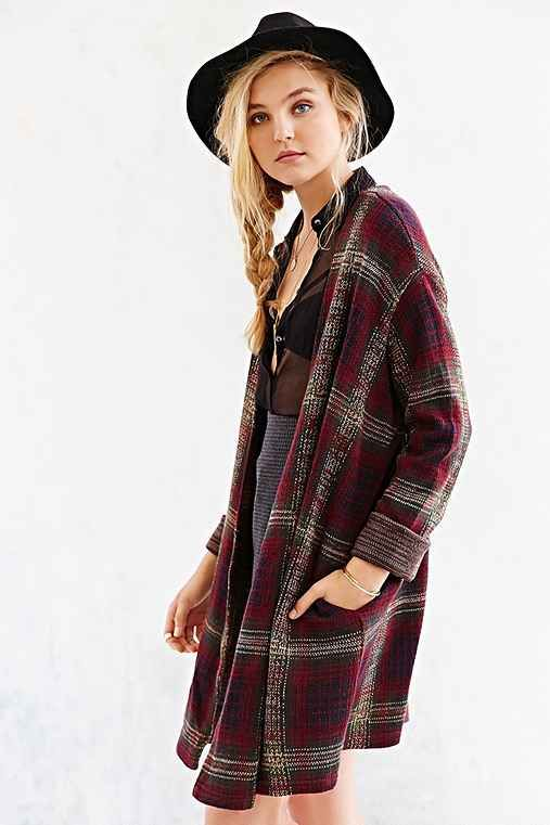 S/M UNIF Nevermind Cardigan | Plaid | Pinterest | Unif, Urban ...