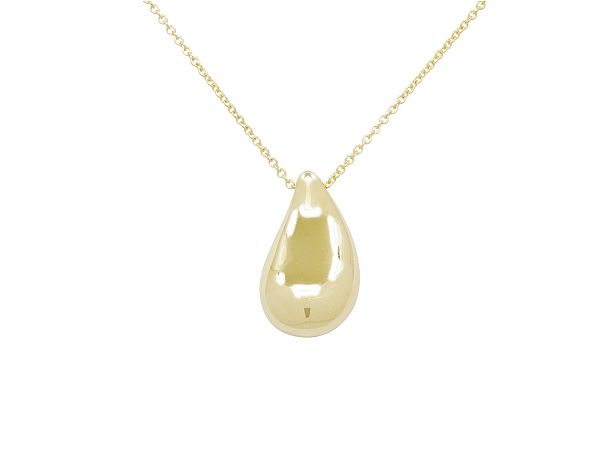 dc0d7949d Elsa Peretti 'Teardrop' Pendant in 18K Gold #vintage #jewelry #beladora # necklace