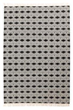 SASSARI ullmatta 140x200 cm Grafisk matta i väl valda färger som pryder sin…