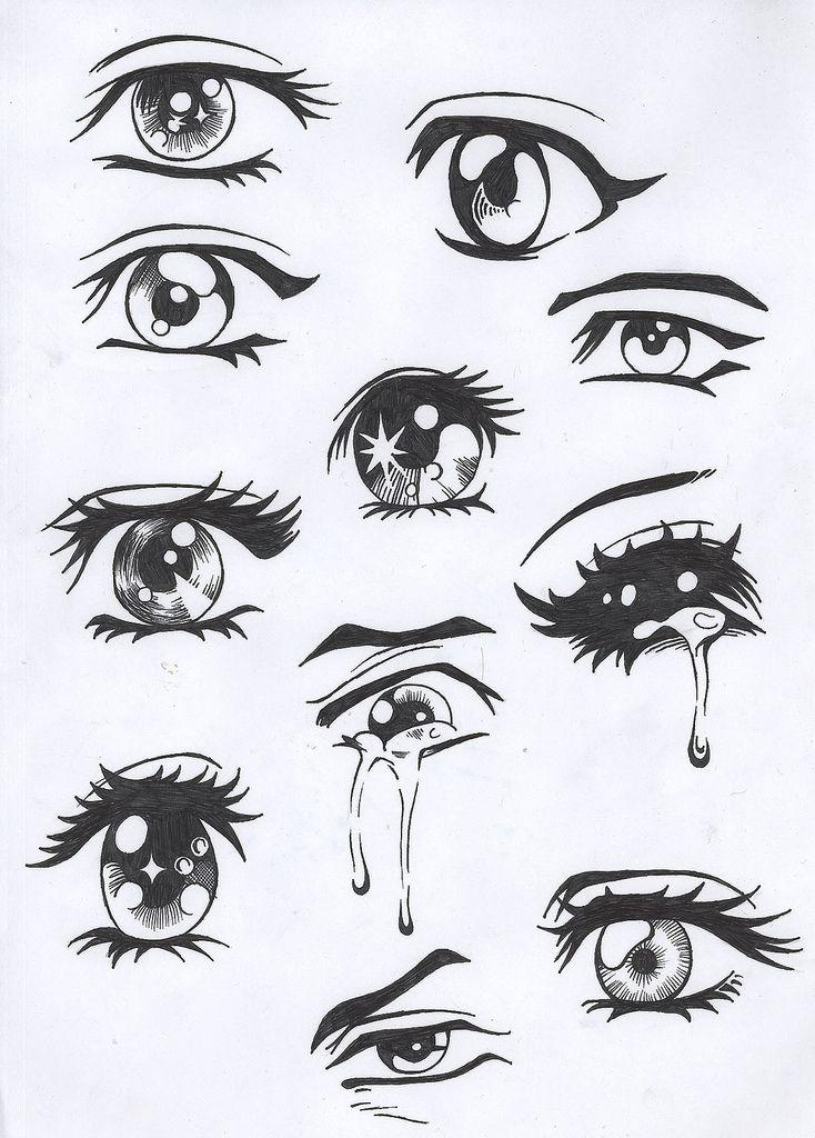 Alihocrez How To Draw Anime Boy Eyes Drawing Pinterest Manga