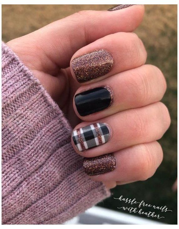 color street nails combos swiss and tell