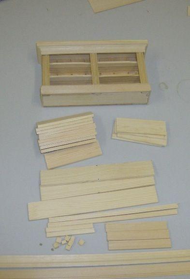 sideboard mehr puppenhaus pinterest miniatur puppenstube und eisstiele. Black Bedroom Furniture Sets. Home Design Ideas