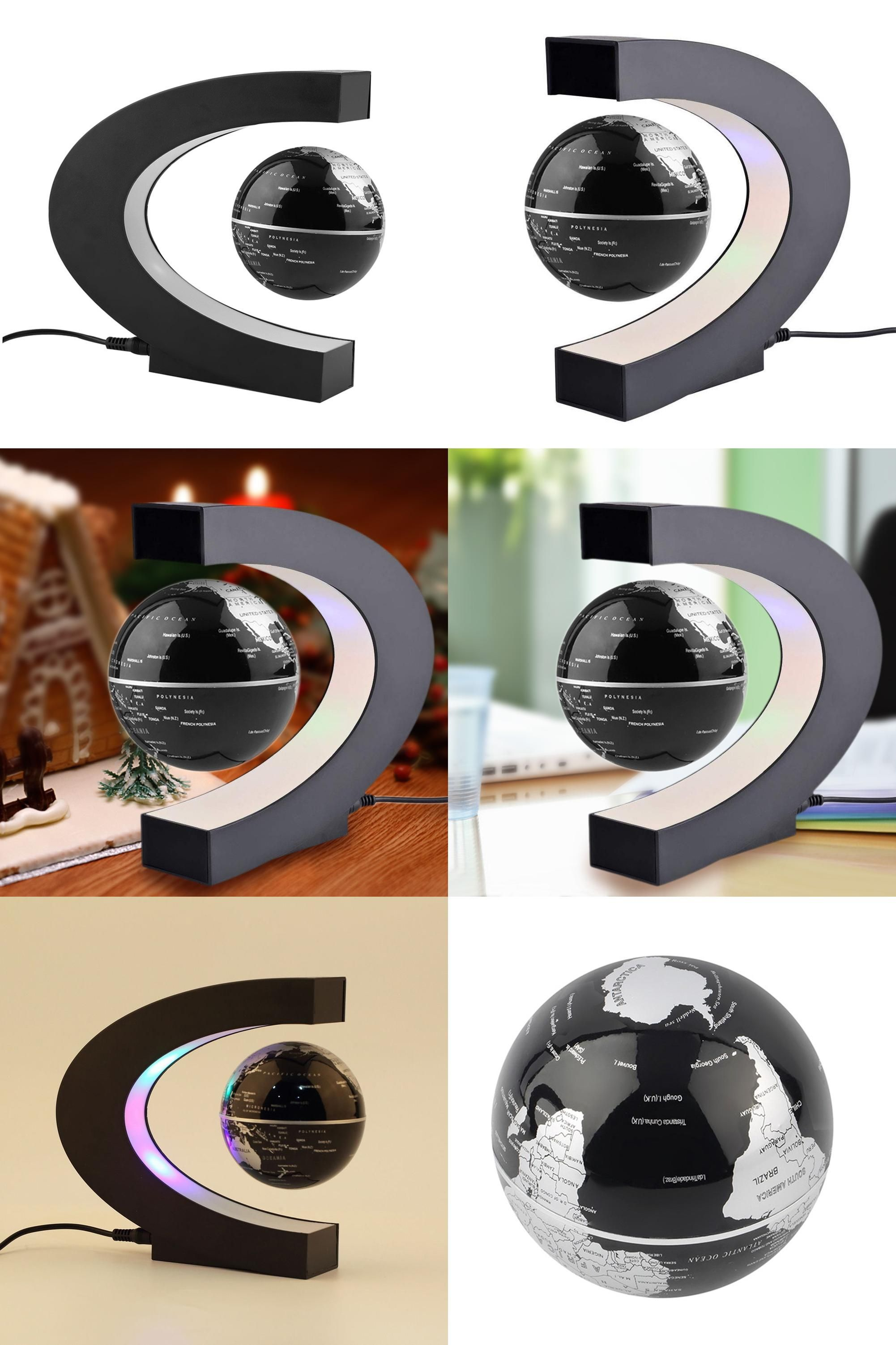 Visit to buy fashion home decoration led floating tellurion c cheap plag buy directly from china suppliersfashion home decoration led floating tellurion c shape magnetic levitation floating globe world map with led gumiabroncs Gallery