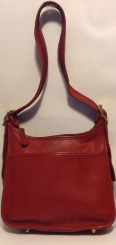 Authentic Coach Classic Legacy Leather Red Shoulder Bag Style 9966 Bags My Ebay
