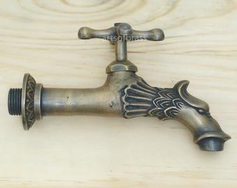 3.85 inches Vintage Retro Brass