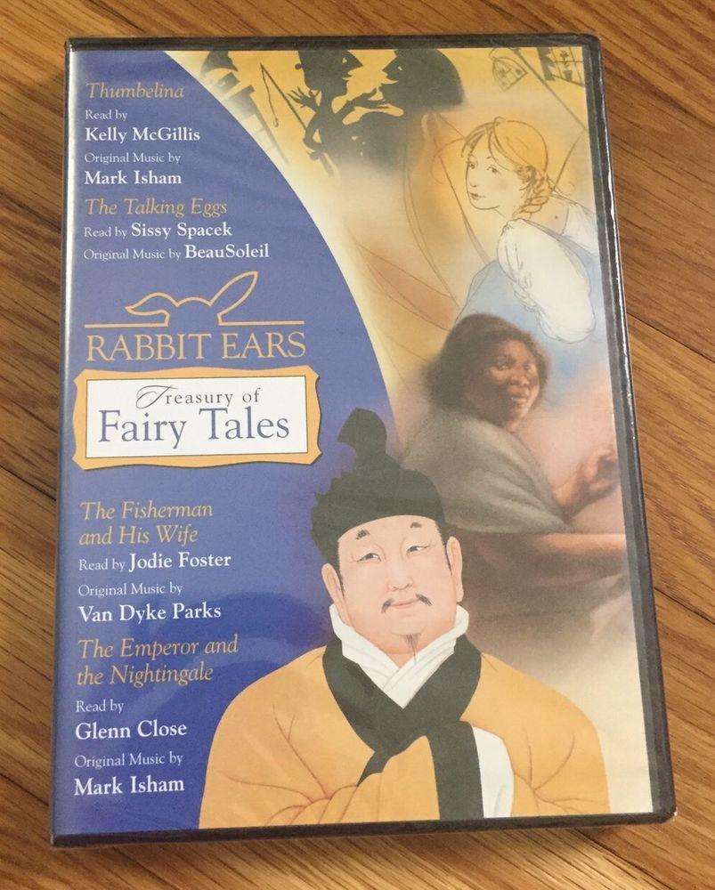 rabbit ears treasury of fairy tales thumbelina the talking