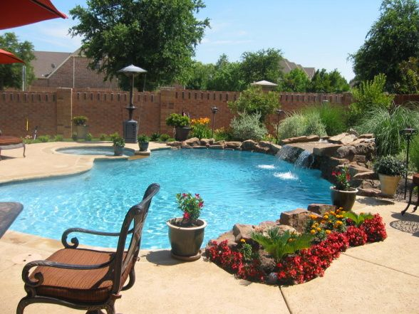 Tropical Yard Ideas Tropical Oasis Pool Designs Decorating Ideas Hgtv Rate My Space Tropical Backyard Oasis Pool Backyard