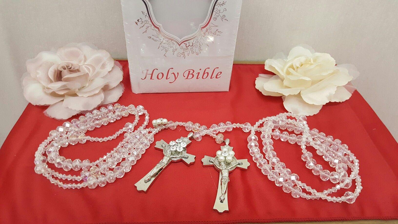 Wedding Bible and Rosary   lasso de boda   Pinterest   Wedding