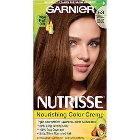 Beauty Medium Golden Brown Hair Color Garnier Hair Color