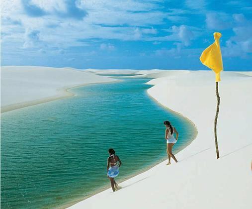 Sao Luis Maranhao Brasil Lencois Maranhenses Lugares