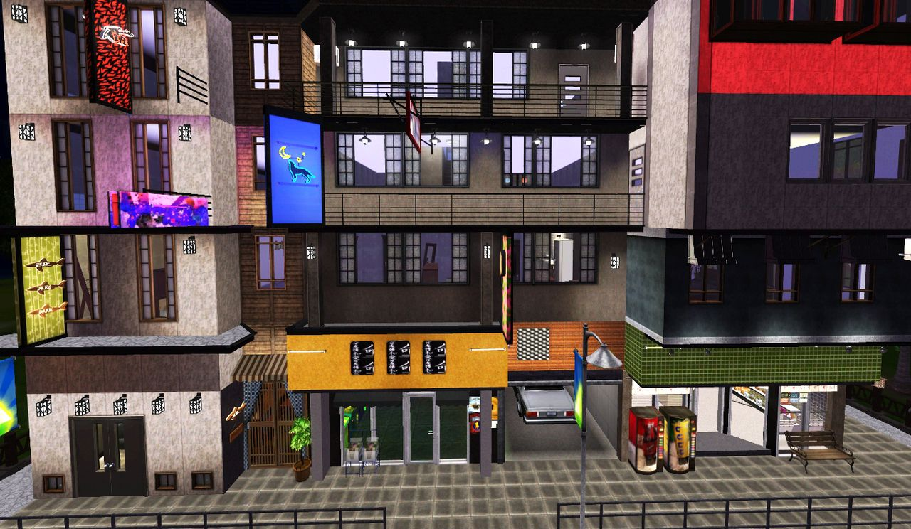 My Sims 3 Blog Sleepy Apartments A 30x30 Community Lot By Fayesta