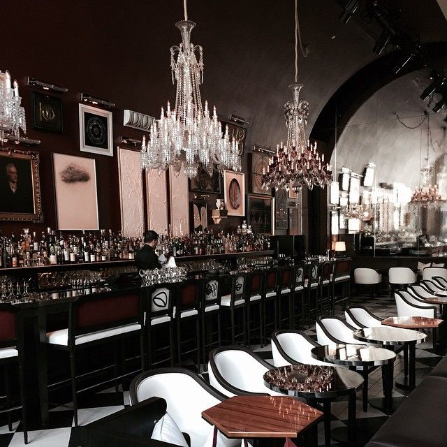 Glamorous Living - Baccarat Hotel   Gallery wall, Modern art and ...