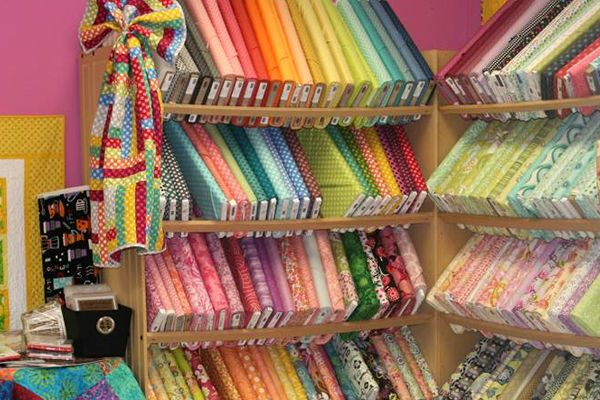 Star Store of the Month Quilting room, Sewing room