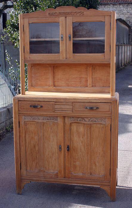 Buffet de cuisine ann es 30 meubles pinterest mobilier de salon buffet et mobilier - Meuble des annees 30 ...