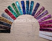 100 Glitter Clips -Lined Double Pronged Alligator Clips- WHOLESALE