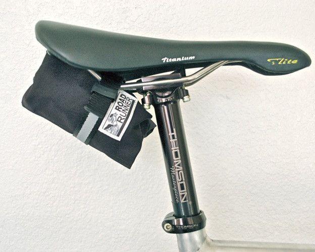 Bike Tool Roll Saddlebag Road Runner Bags 22 Bike Saddle