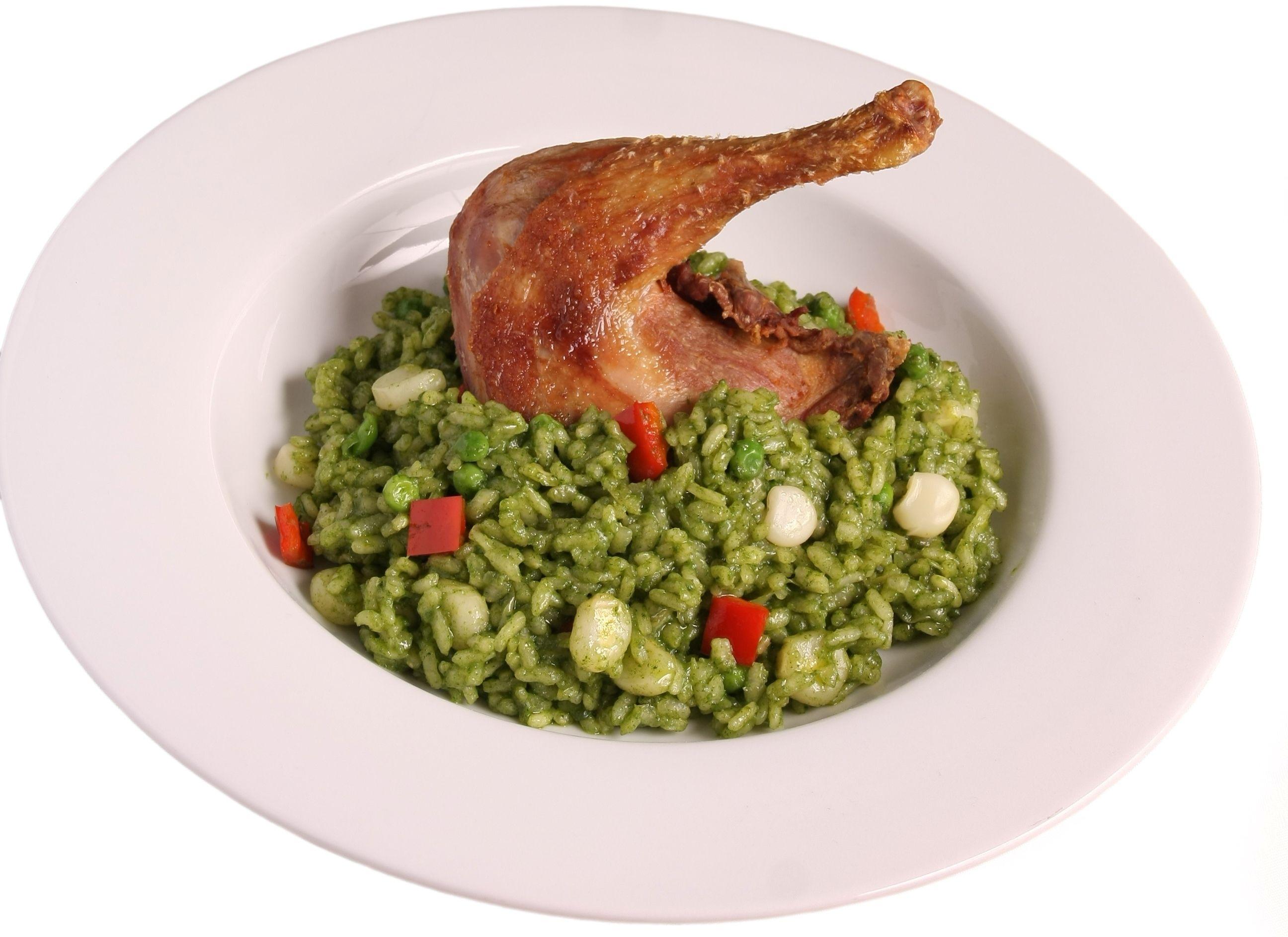 Cilantro Rice Arroz Con Pollo