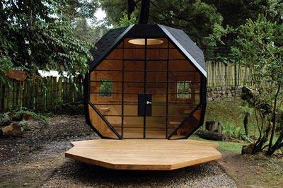 Abri bureau de jardin design avec terrasse | Bureaux extérieurs et ...