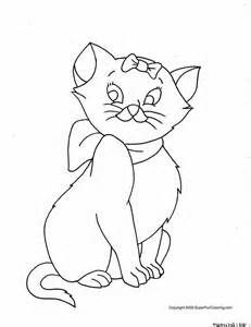 Cute Cats Coloring Pages - Bing Images | Cat coloring page