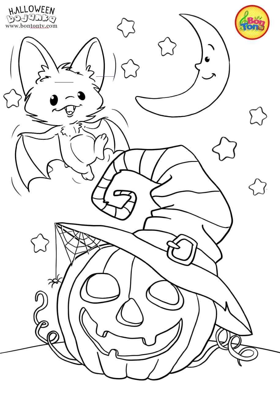 halloweencoloringpages em 2020 Desenhos do dia das