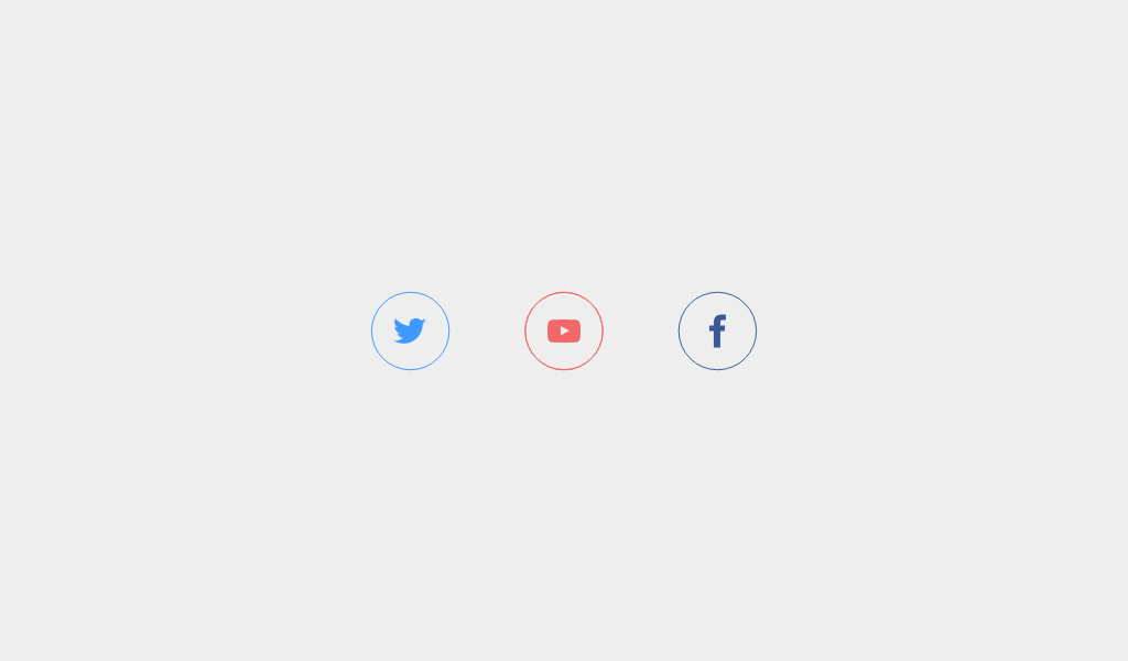 Some cool hover effects for social icons using svgs     | Web: Hover