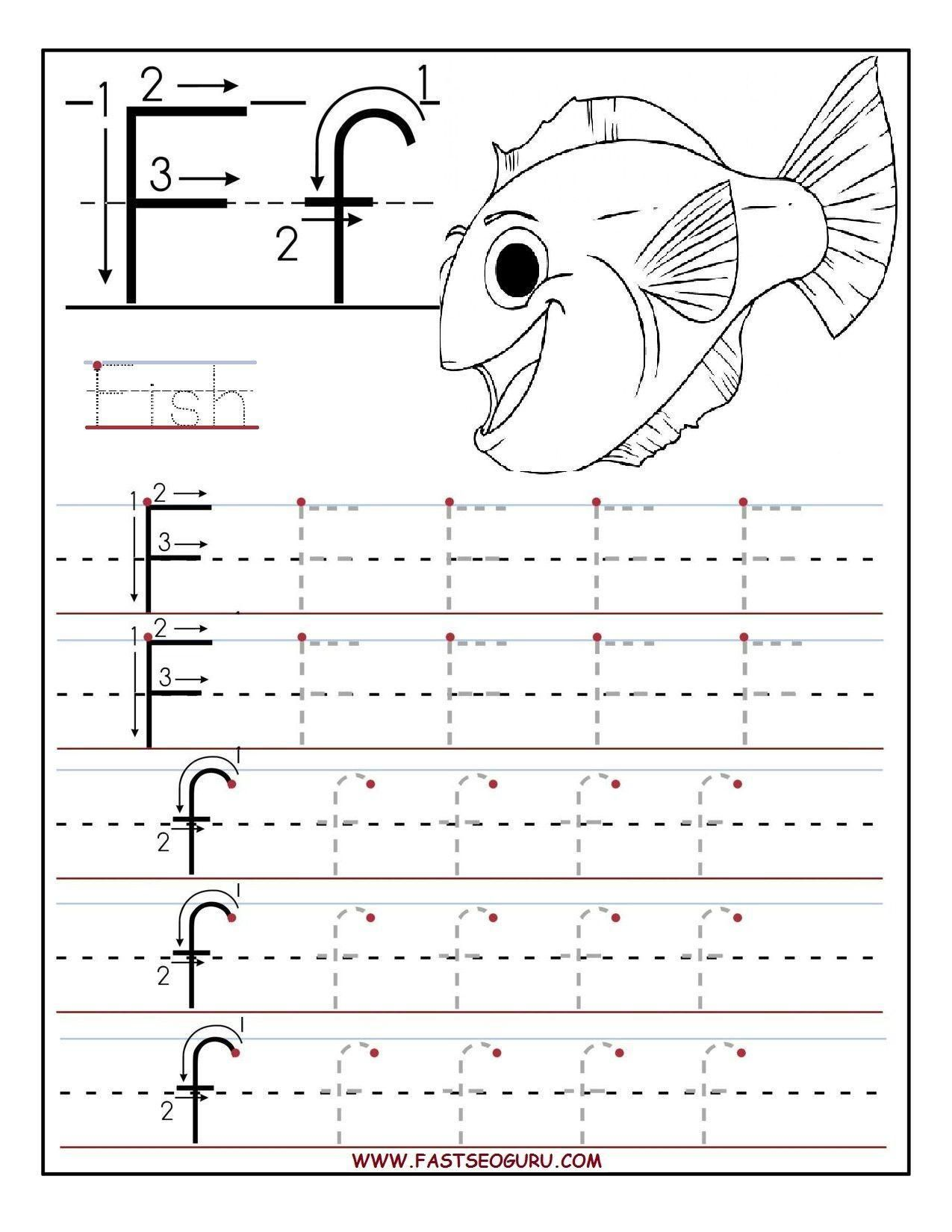16 Preschool Letter Printables In