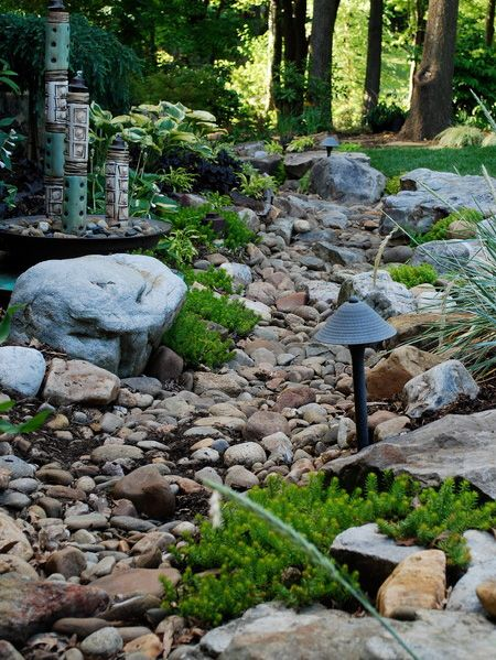 Drainage Ideas For Backyard image of simple backyard drainage solutions Rock Garden Ideas To Implement In Your Backyard Homesthetics 7