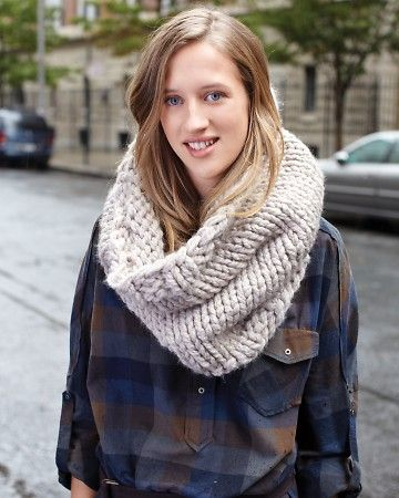 Dobbs Ferry Knit Cowl - perfect for the fall-to-winter transition