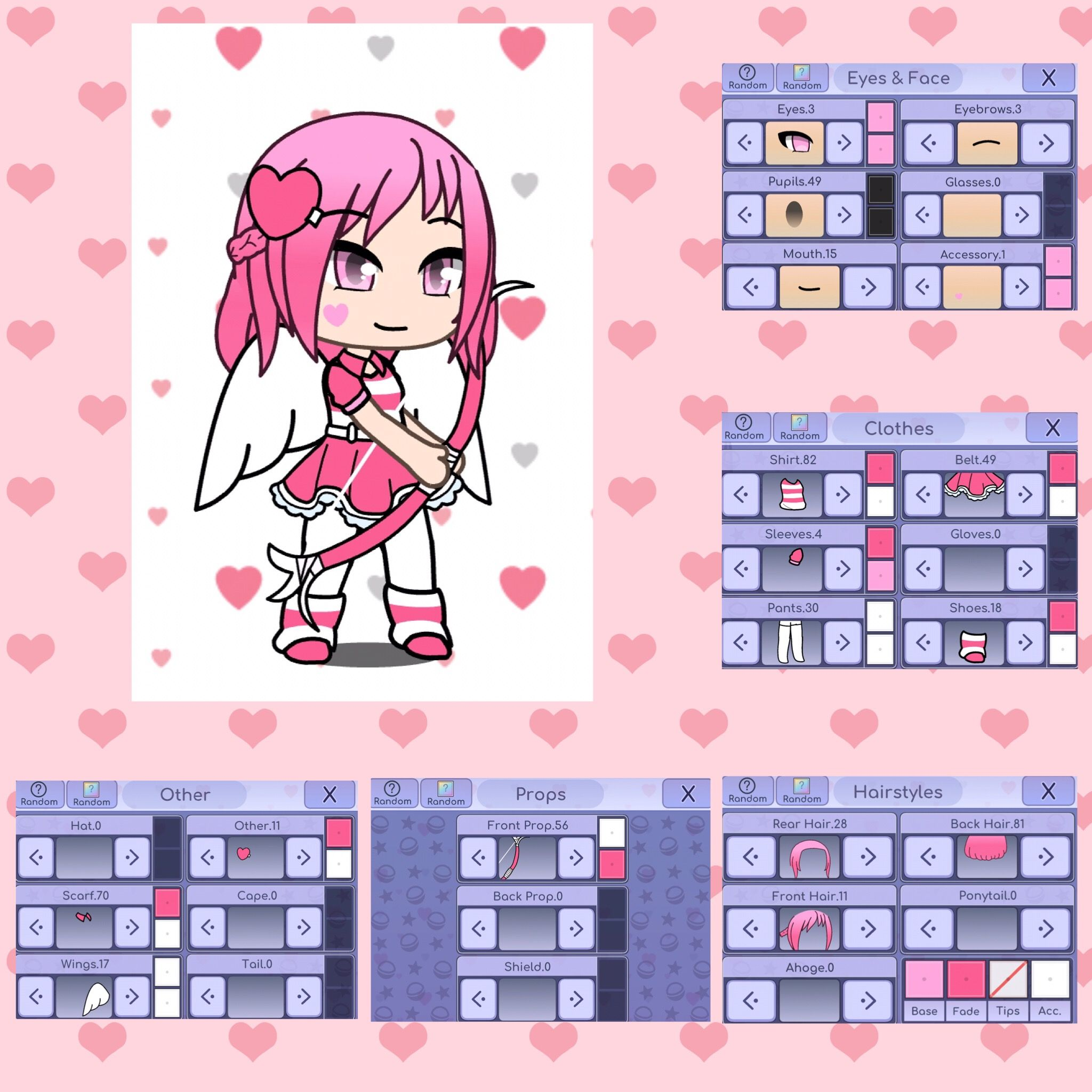 Casie Daughter Of Cupid With Images Cute Anime Chibi
