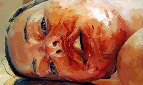 Reverse, 2002-2003, by Jenny Saville