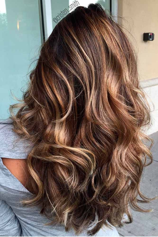 Great highlighted hair for brunettes see more http great highlighted hair for brunettes see more httplovehairstyles pmusecretfo Images