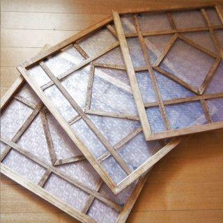 超簡単 100均材料で作るカフェ風レトロな飾り窓 100均 Diy