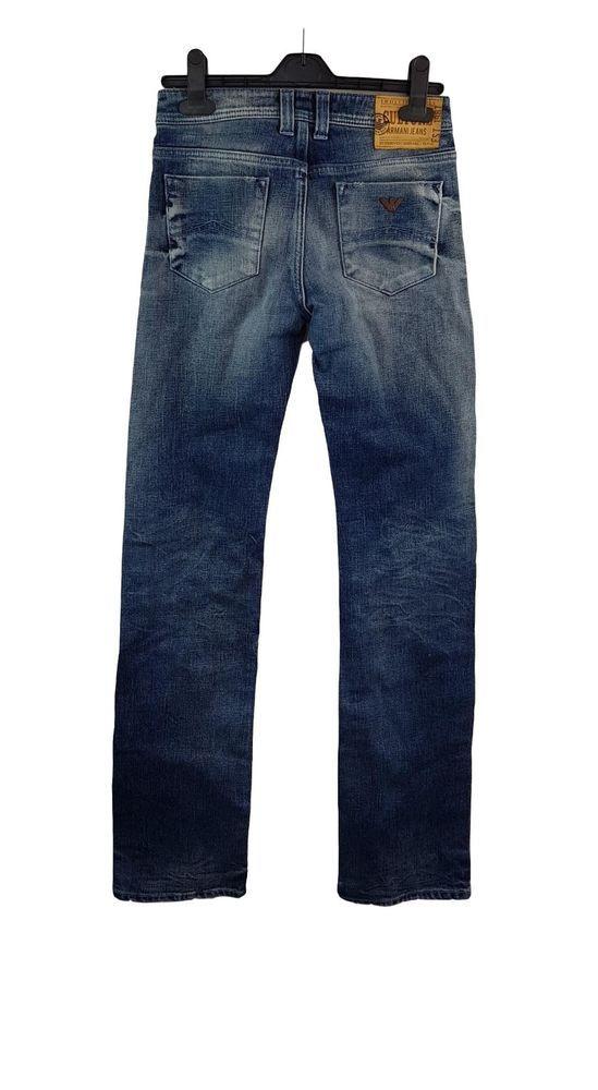Details zu ARMANI JEANS Damen Jeans Gr. 25 Straight hose W25 L34 Wie Neu 07    Armani jeans 5b5e9fb06a