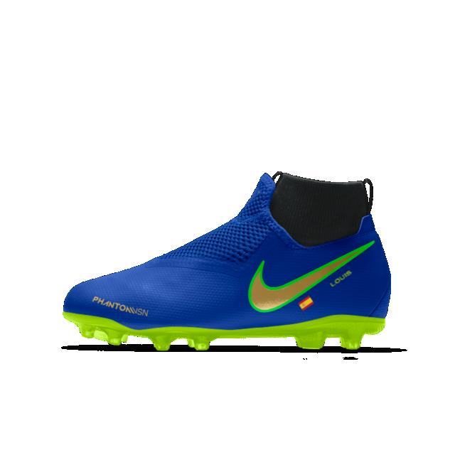 730e2e2dabbed Nike Phantom Vision Academy Jr. MG iD Botas de fútbol para múltiples  superficies - Niño a