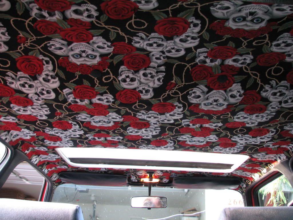 Car interior roof repair - Vwvortex Com Extensive Headliner Diy