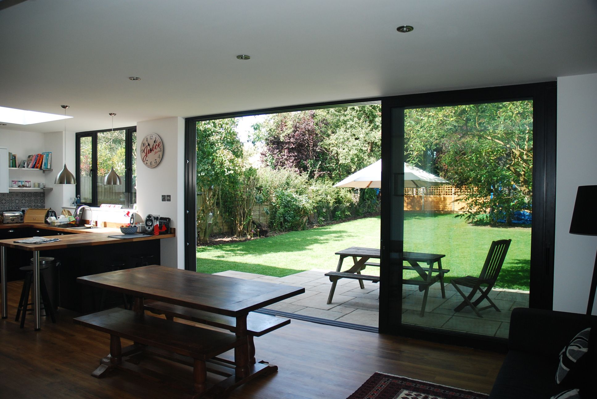 Open plan extension ideas google search extensions Contemporary 1930s house
