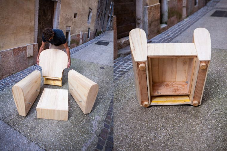 Fauteuil Club W Meubles Pinterest Woodworking Pallets and Woods