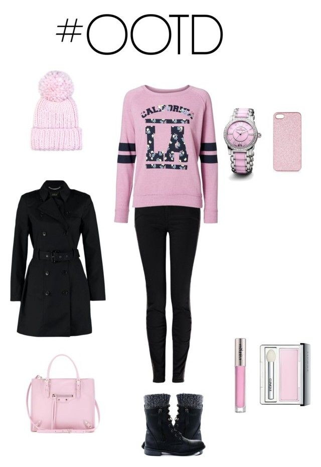 """""""OOTD"""" by topaz-517 ❤ liked on Polyvore featuring Vivienne Westwood Anglomania, Vero Moda, SET, Topshop, Eugenia Kim, David Yurman, Balenciaga, CARGO, Clinique and women's clothing"""