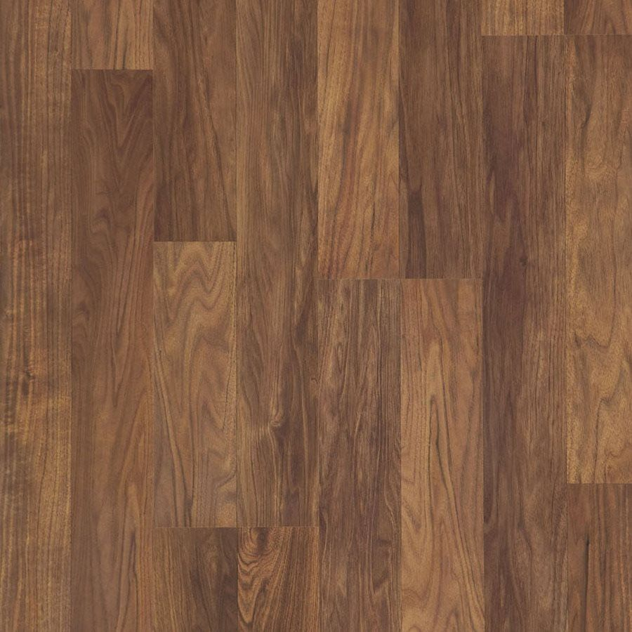 Style Selections 7.87in W x 3.96ft L Natural Walnut